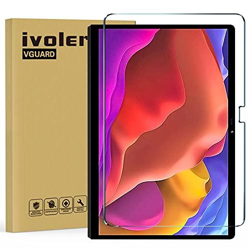 ivoler Protector de pantalla de cristal templado para Lenovo Yoga Tab de 13 pulgadas 2021, dureza 9H, antiarañazos, antiburbujas, fácil de usar