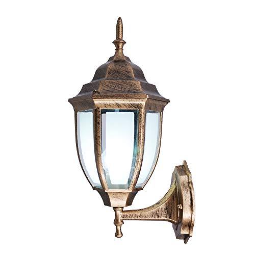 Retro industriële wandlamp van aluminium, verlichting binnen en buiten, IP54 waterdicht, voor woonkamer slaapkamer deur hal