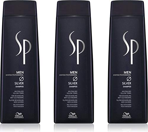Wella SP Men Silver Shampoo 3x250 ml