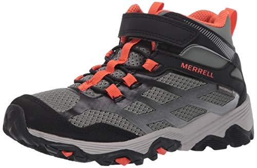Merrell M- moabfstmidacwtpf, Chaussures de Montagne, Vert Olive/Noir, 34.5 EU