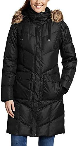 Eddie Bauer Women s Lodge Cascadian Down Parka Black Regular M product image