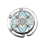 Perchero Monedero Plegable Lindo Gancho Monedero Hermosos Azulejos de cerámica Patrones Artesanía de Tailandia en el