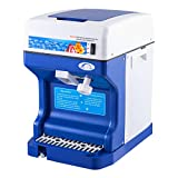VEVOR Snow Cone Machine 265LBS Commercial Ice Shaver Crusher 220V 50HZ Ice Crusher Shaver Machine Snow Flake Stainless Steel Food Grade for Kitchen Home Bars