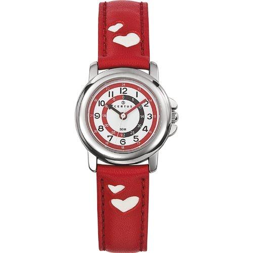 Certus Kinder Quarz Uhr mit Leder Armband 647451