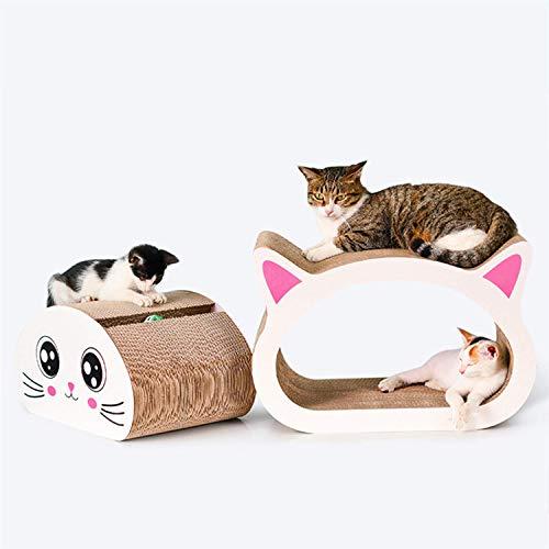 DGHJK Artículos para Mascotas, Tablero de arañazos para Gato, Papel Corrugado, Garra, Garra, Juguete, Gato, Suministros para Mascotas,...