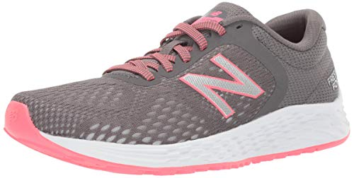 New Balance Women's Arishi V2 Fresh Foam Running Shoe, Gray/Guava, 10 D US