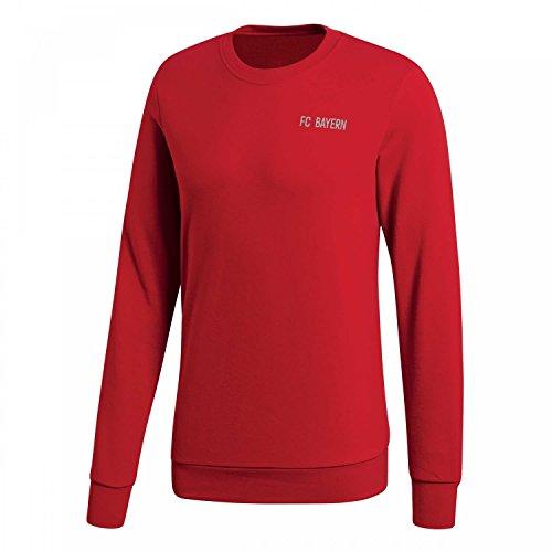 adidas Herren FC Bayern Graphic Sweatshirt, FCB True red, L