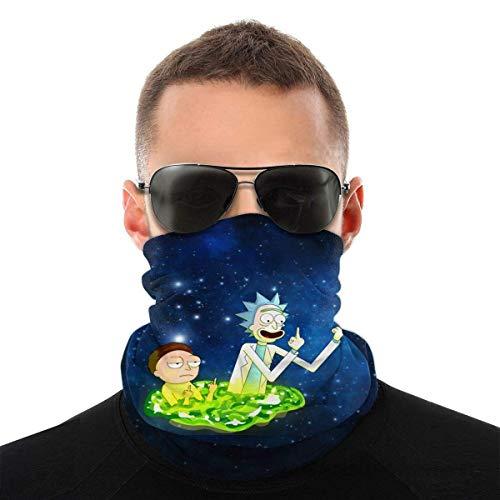 Unisex Sonnenschutz UV-Schutz Gesichtsmaske Rick&Morty Winddicht Schal Neck Gaiter...