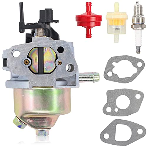 ZAMDOE 951-14423 Kit de carburador para 5X65RU Motor, para MTD RM120 RM210 RM220 RM2210 para Troy Bilt TB105 TB120 TB220 TB270 Cortacésped Manual para Cub Cadet LE100 SC100 SC300 SC500 ST100