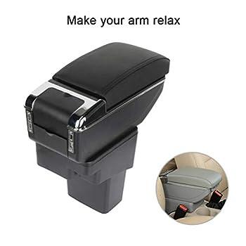 ROADFAR Black Center Console Armrest Organizer Box Replacement fit for 2010-2015 Nissan Juke