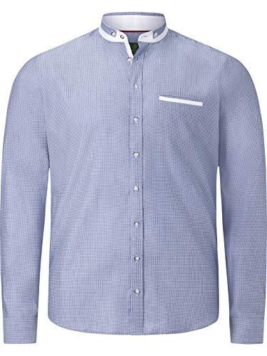 Charles Colby lange mouw overhemd Duke Adewale lichtblauw 4XL (XXXXL) - 49/50