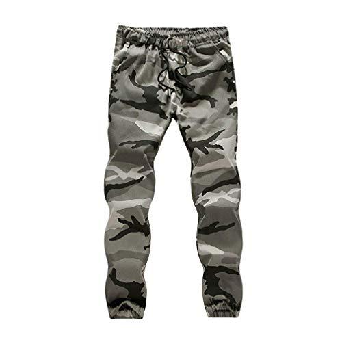 Männer Camouflage Hose Classic Camo Joggers Hosen Trainingsanzug Hohe Taille Militärische Jogger Bottoms Workout Overall Tarnen 5XL