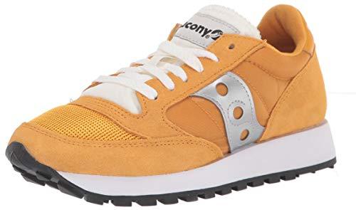 Saucony Jazz Original Vitnage, Sneakers Basse da Donna, (Giallo Bianco Argento), 40 EU