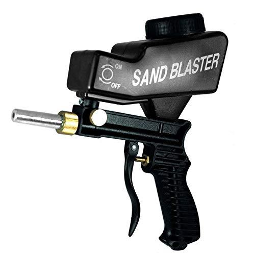 WXX Portable Black Gravitational Sandblasting Machine Mini Rust-proof Sandblaster