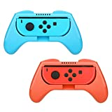 HEYSTOP Nintendo Switch Joy-con Grips (2 Piezas), Mando Joy-con Grip Kit, Funda Protector Handle...