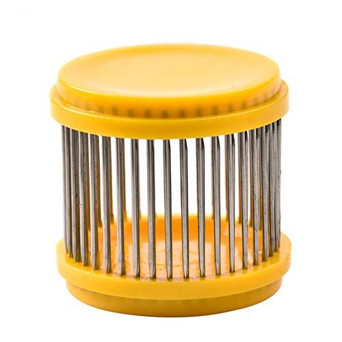 6 Stk Gelb Kunststoff Königinnenkäfig Nadelkäfig zur Fangen von
