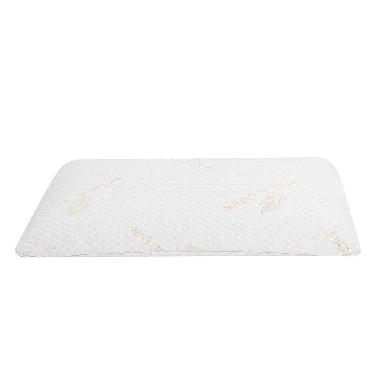 確かめる追加数字ラテックス枕、首と肩の痛みのための睡眠の自然な高い整形外科顆粒マッサージデザインのための豪華な記憶枕