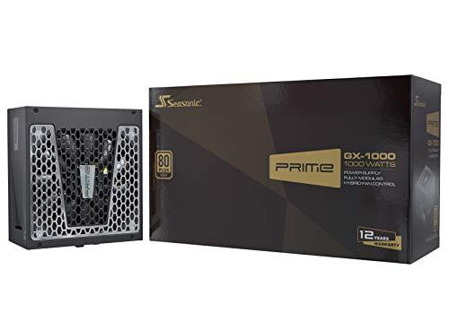 Seasonic Prime GX-1000 Alimentatore per Computer 1000 W ATX Nero Prime GX-1000, 1000 W, 100-240 V, 50/60 Hz, 13-6.5 A, 125 W, 996 W
