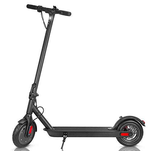 Electric Scooter for Adults and Kids Lightweight Quick Folding Max 15mph Speed 15 Miles Long-Range Battery with 250W Motor E-Scooter for Commuter (Black)