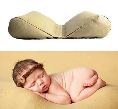 Pinbo Newborn Baby Photography Prop Butterfly Posing Pillow Basket Filler Photo Prop (Light Brown)