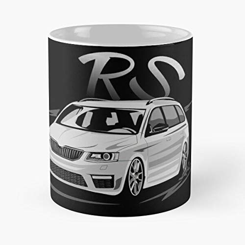 3 Enthusiast Rs Tuning Octavia Lover Skoda Best 11 oz Kaffeebecher - Nespresso Tassen Kaffee Motive