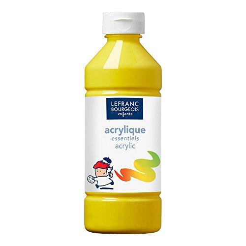 Lefranc & Bourgeois - Pintura acrílica líquida, 500 ml, color amarillo