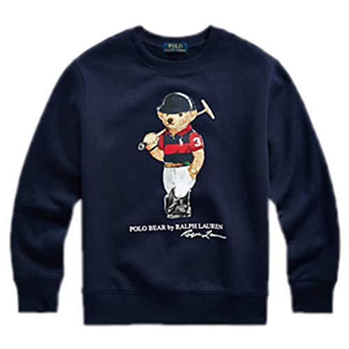 Polo Ralph Lauren - Felpa 321836596001 – Felpa senza cappuccio blu bambino
