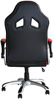 POLIRONESHOP MONTECARLO Silla sillón profesional presidential giratoria para Gaming Racing de oficina de escritorio con diferentes