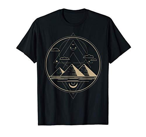Camisa del Antiguo Egipto, Escarabajo y Faraón Camiseta