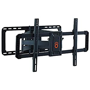ECHOGEAR Full Motion Articulating TV Wall Mount Bracket for 42″-85″ TVs – Easy to Install On 16″, 18″ or 24″ Studs and Features Smooth Articulation, Swivel, Tilt – EGLF2