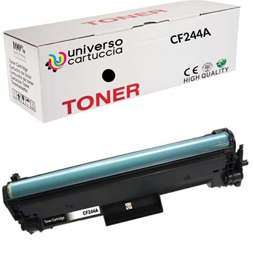 UniversoCartuccia® Toner Compatibile per Hp CF244A - 44A,Cartuccia compatibile per HP LaserJet Pro M15a/M15/Pro MFP M28a/M28w Nero da 1.000 copie al 5% copertura