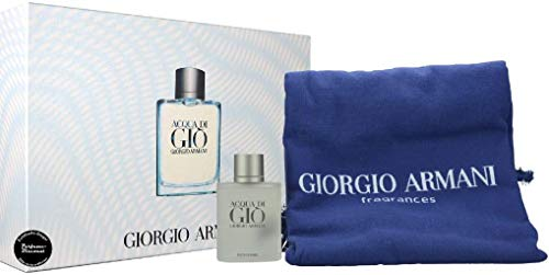 Armani Set Acqua Di Gio Hombre Y Toalla, 100 ml, Pack de 1