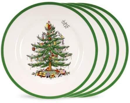 Spode - Classic Christmas Tree Design Earthenware Dinner