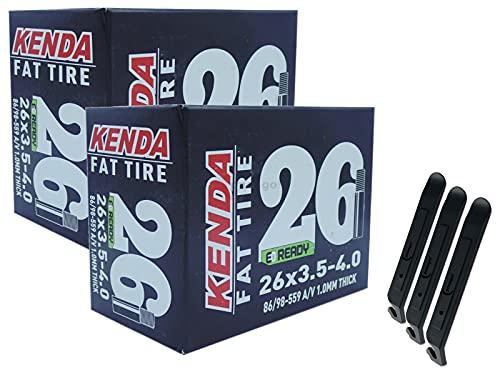 pneugo! Kenda 86-98/559 AV40 Fatbike - Juego de 2 cámaras d