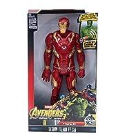 """アクションフィギュア ブラックパンサーキャプテンアメリカのThor Iron Man Antman Hulk Buster Hulkアクション12""""30cm (Color : Ironman NO BOX)"""