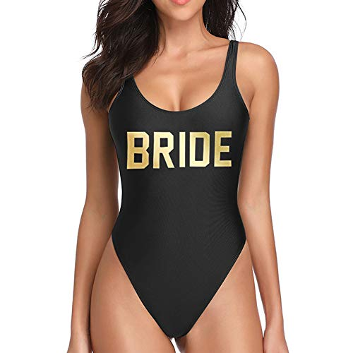 Dixperfect Baywatch-Inspired One Piece Swimsuit with High Cut and Low Back for Women