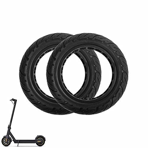 HGTRH Neumático Sólido 10x2,5, Ruedas Macizas Patinete Electrico 10 Pulgadas, Neumático No...