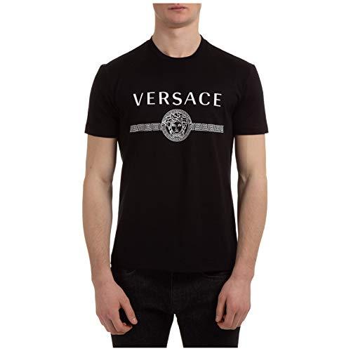 Versace Herren T-Shirt Medusa Nero XL