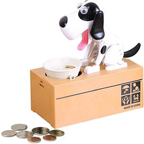 nJiaMe NICEYARD Kinder Geschenk-elektronische Piggy Banks Cartoon Roboter-Hund stehlen Münzen-Bank Automatisierte Spardosen Geld sparen Box Spaß zu Hause
