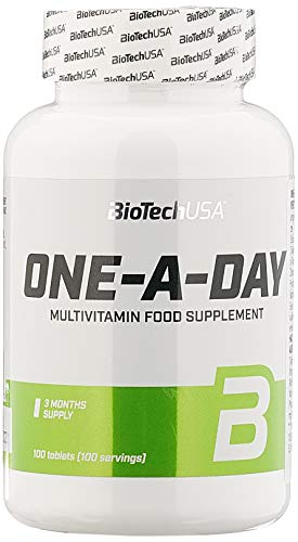 BioTech USA One a Day  100 Tabletten, 1er Pack (1 x 160 g)