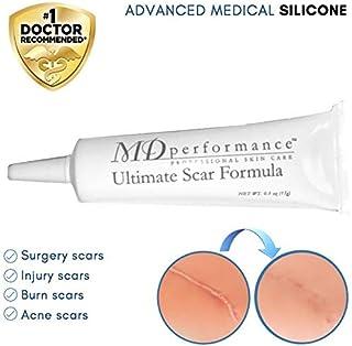 Ultimate Scar Formula l Clinically proven l 100% Medical Grade Silicone l Non allergenic l Surgical l Traumatic l Burns l Acne l C Section Scars