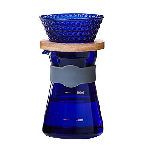 Lowral Pour Over Kaffeebereiter, papierlos, wiederverwendbar, Edelstahlfilter und BPA-frei