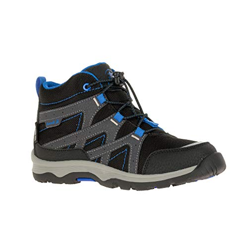 Kamik Unisex-Kinder Bone Hohe Sneaker, Schwarz (Black Blue BBL), 36 EU