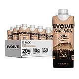 Best Solgar Vegan Protein Powders - Evolve Plant Based Protein Shake, Café Mocha, 20g Review