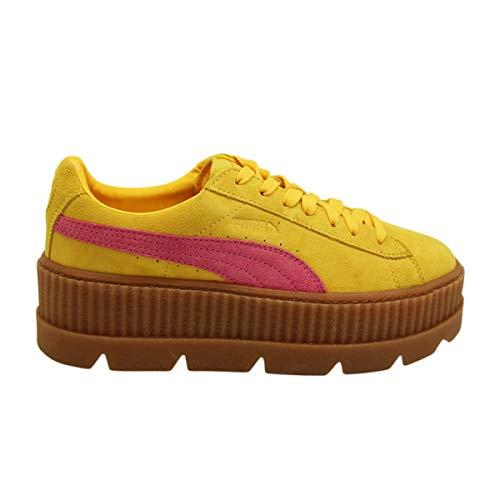 PUMA Fenty Rihanna Cleated Creeper Suede Leather Women Sneakers Shoes Fenty Rihanna Cleated Creeper Suede per Donna Scarpe Sneakers