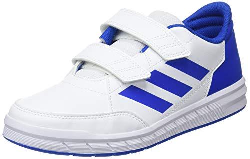 adidas Altasport CF K, Zapatillas de Gimnasia Unisex Niños, Blanco (FTWR White/Blue/Blue FTWR White/Blue/Blue), 38 2/3 EU
