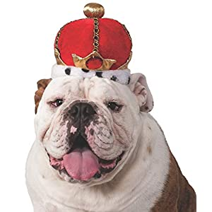 Rubies King's Crown Pet Costume Accessory