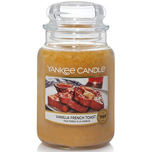 Yankee Candle Duftkerze im Glas (groß) | Vanilla French Toast | Brenndauer bis zu 150 Stunden