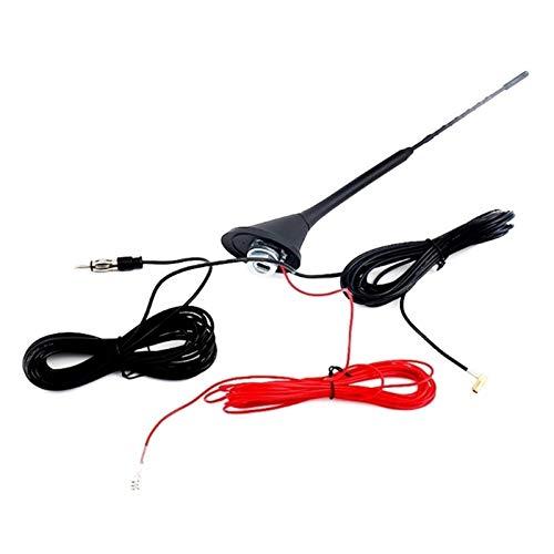 ZHANGSUYUAN Ajuste para el automóvil DAB FM / AM Sistema de la señal de mejora de la señal de la antena trasera de la antena de reemplazo de la reemplazo de la reparación de automóviles de la modifica