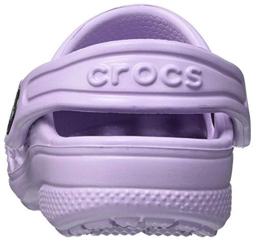 Crocs Baya Clog K Unisex Niños Zoccoli, Morado (Lavender), 34/35 EU